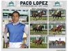 Paco Lopez wins five races on Haskell Day