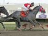 City Of Weston #7 with Paco Lopez riding upset Clearly Now to win the $300,000 Gallant Bob Stakes at Parx Racing in Bensalem, Pennsylvania September 21, 2013.