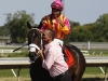 Force Freeze with Paco Lopez wins the Teddy Drone Stake (7-31-2011)
