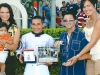 JOCKEY PACO LOPEZ LEADING RIDER AT GULFSTREAM PARK 2011 - PRESENTATION BY MR. EIBAR COA