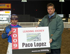 Paco Lopez 2009 Leading Rider Meadowlands Racetrack