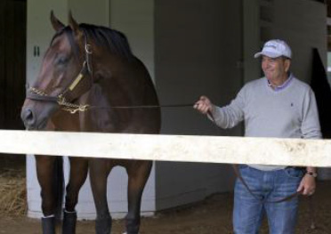 Trainer Eddie Plesa saddled four winners during the first two days of Gulfstream Park's winter meet.