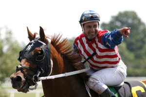 Joe Bravo wins the first 4 races at Monmouth Park